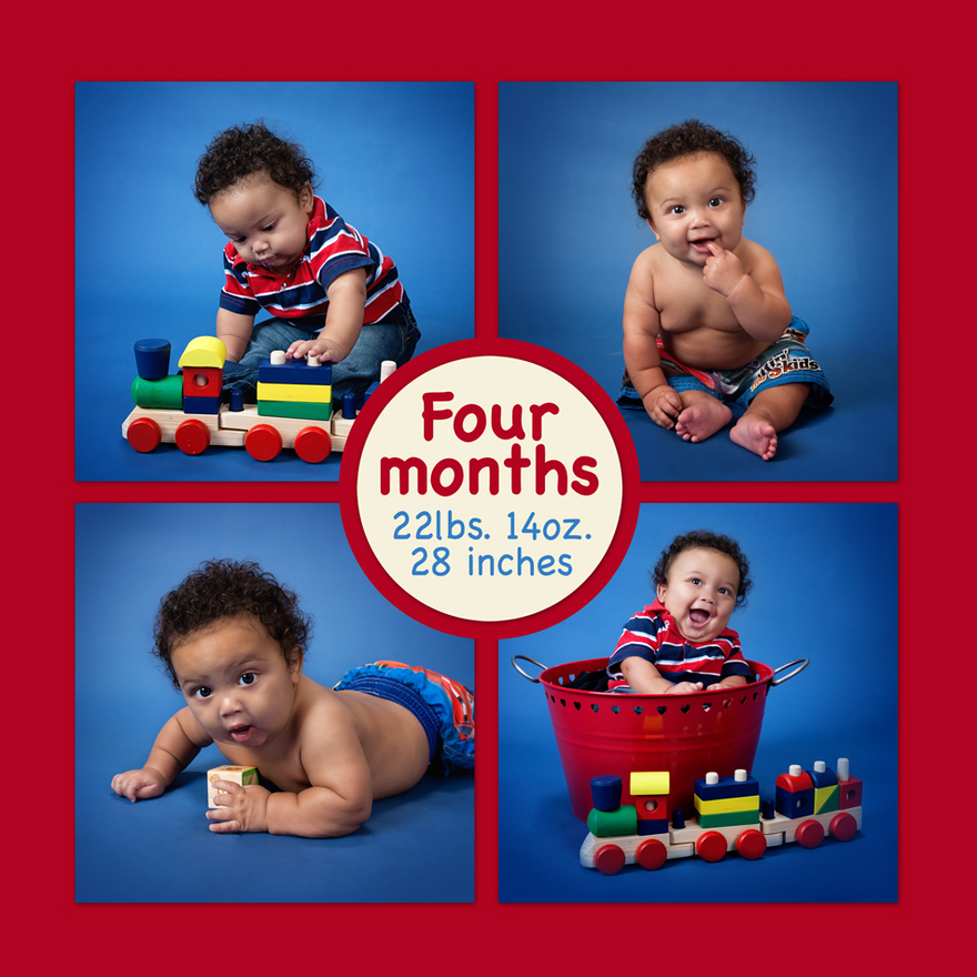 4 month Baby Photographs